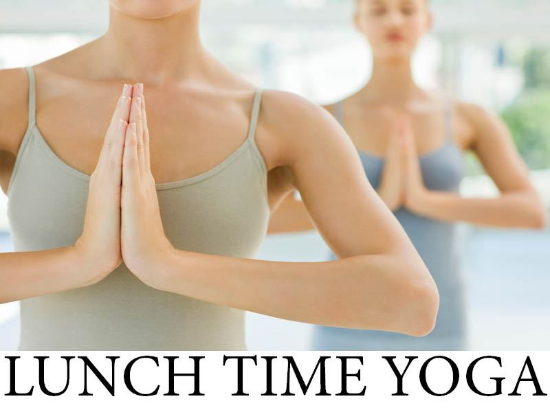 Lunch Time Yoga Picture