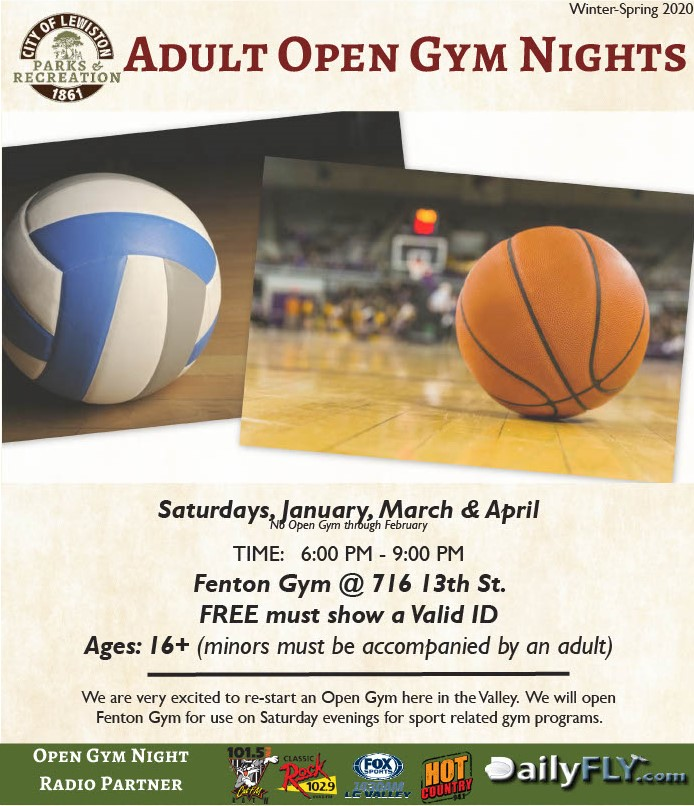 Adult Open Gym Night